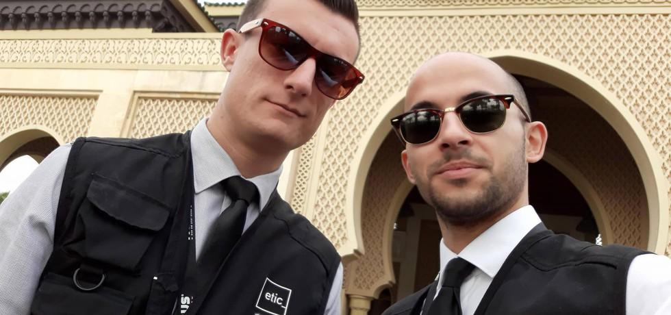 Os nossos alunos atreveram-se em Marrocos