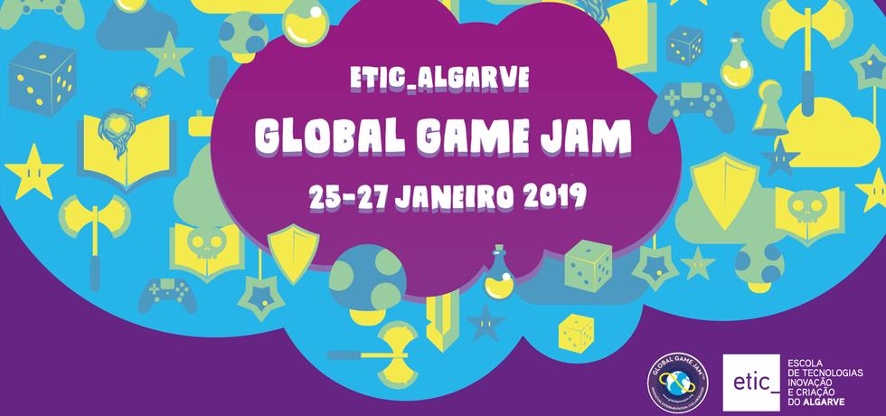 Jogos criados em menos de 48h na ETIC_Algarve Global Game Jam 2019
