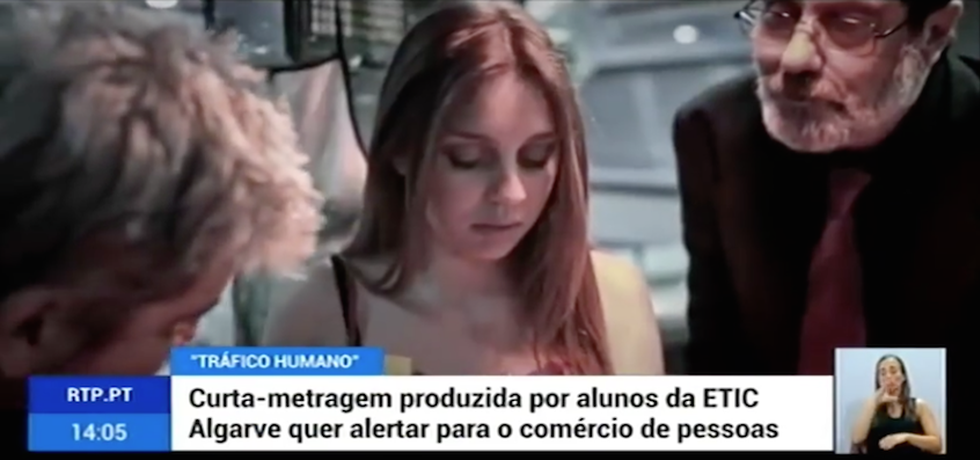 """""""Tráfico Humano"""" em destaque na RTP1"""