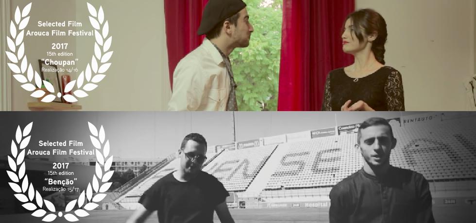 2 filmes ETIC_Algarve na seleção do Arouca Film Festival