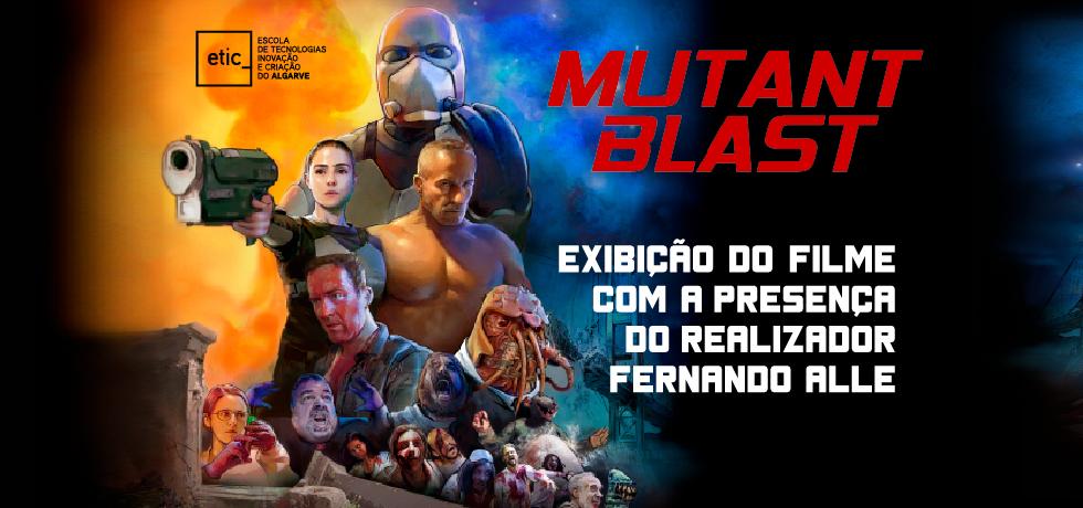 """Apocalipse zombie chega à ETIC_Algarve com """"Mutant Blast"""", em sessão com presença do realizador Fernando Alle."""
