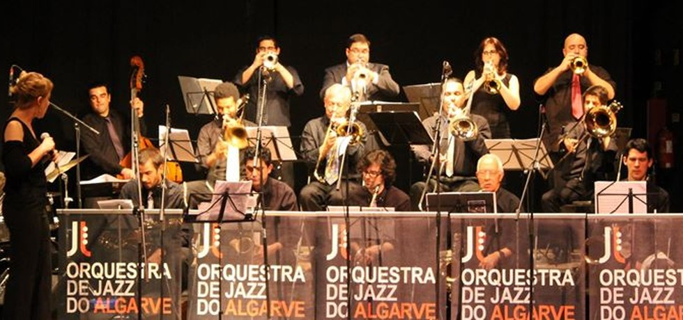 Parceria estabelecida com a Orquestra de Jazz do Algarve