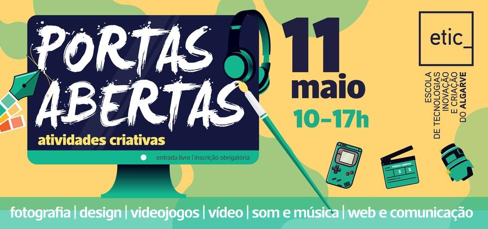 Portas Abertas ETIC_Algarve | 11 DE MAIO