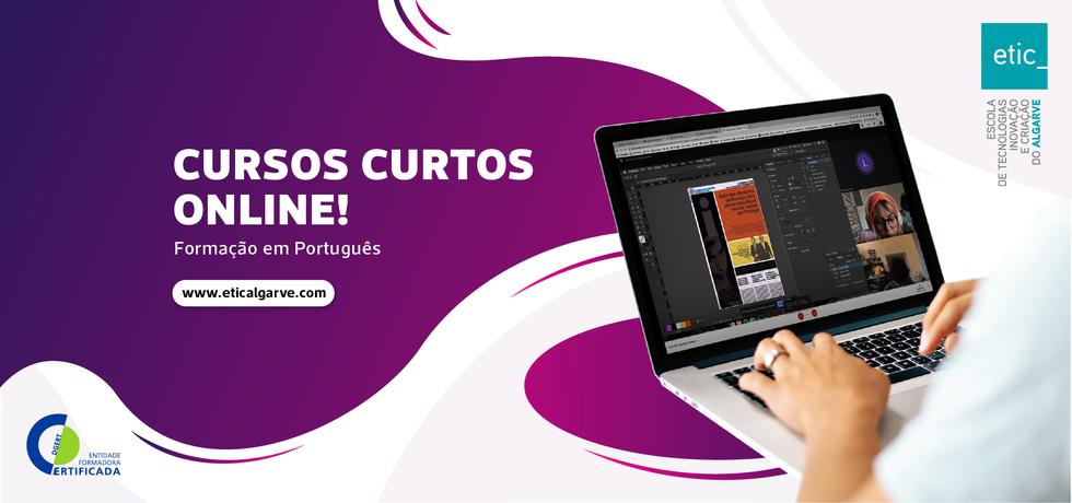 Cursos curtos à distância de um clique, reforçam oferta formativa da ETIC_Algarve