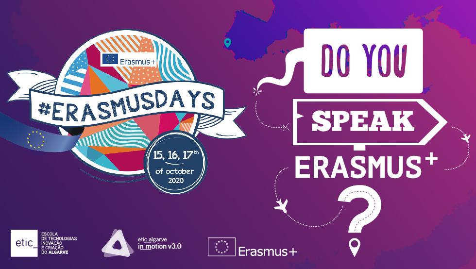 #ERASMUSDays na ETIC_Algarve