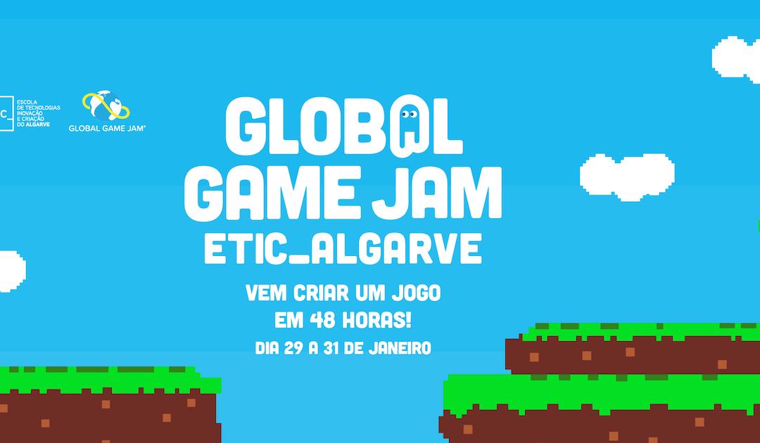 Vem criar jogos em 48 horas na ETIC_Algarve Global Jam 2021