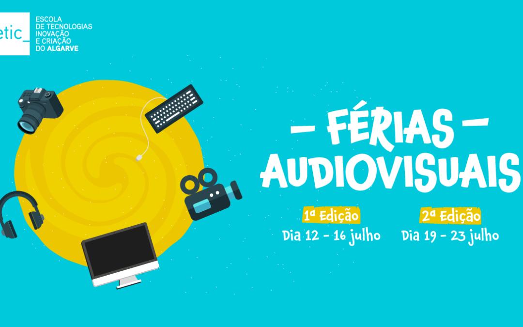 Férias Audiovisuais para jovens mentes criativas